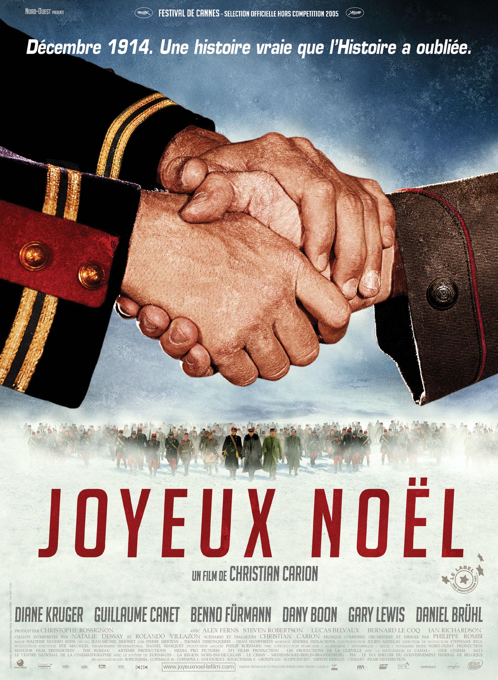 Joyeux Noel Christian Carion CinéShediac   Joyeux Noël   Experience Shediac